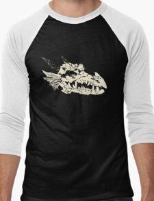 Ancient Dragon Skull Men's Baseball ¾ T-Shirt