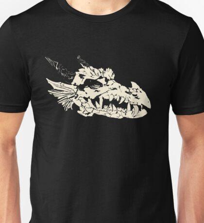Ancient Dragon Skull Unisex T-Shirt