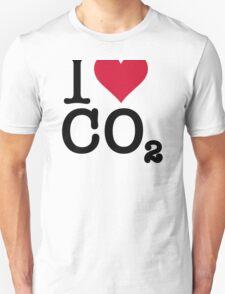 I Love CO2 Unisex T-Shirt