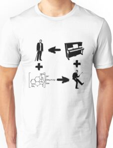 Dr House - A Matter of Vicodin and Music Unisex T-Shirt
