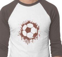 Soccer Ball Men's Baseball ¾ T-Shirt