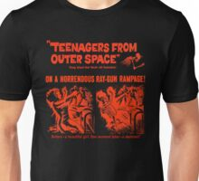 Teenagers from outer space ray-gun poster Unisex T-Shirt