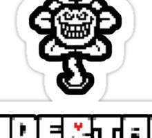 ❤ ♥ Undertale Flowey Faces ♥ ❤ Sticker