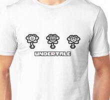 ❤ ♥ Undertale Flowey Faces ♥ ❤ Unisex T-Shirt