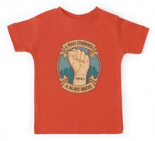 A Man Chooses, A Slave Obeys Kids Tee
