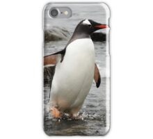 "Gentoo Penguin ~ ""Gawd it's Cold"" iPhone Case/Skin"