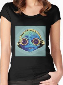 Maz Kanata Vibrant Women's Fitted Scoop T-Shirt