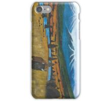 """""""Lone Buffalo"""" by Curtis Caton iPhone Case/Skin"""