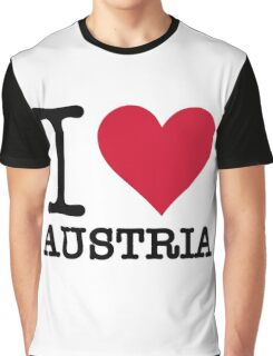 I love Austria Graphic T-Shirt