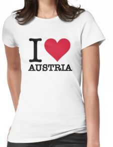 I love Austria Womens Fitted T-Shirt