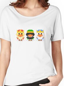 The Three Wise Ducklings Women's Relaxed Fit T-Shirt
