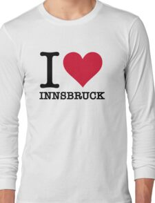 I Love Innsbruck Long Sleeve T-Shirt