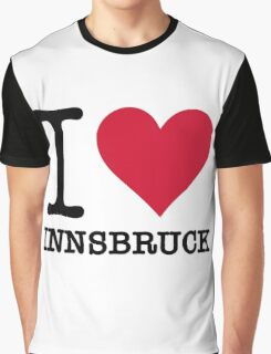 I Love Innsbruck Graphic T-Shirt