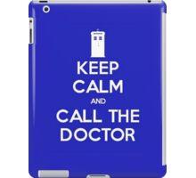 Doctor Who: Keep Calm iPad Case/Skin