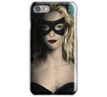 Black Canary - Katie Cassidy iPhone Case/Skin