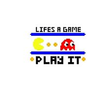 Life's a game... Play it Photographic Print