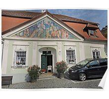 House, Durnstein, Austria Poster