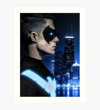 Colton Haynes as Nightwing Art Print