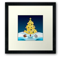 The Christmas Cheese Tree Framed Print