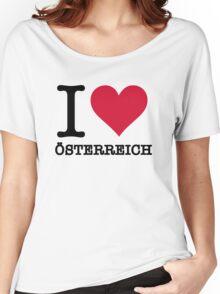 I love Austria Women's Relaxed Fit T-Shirt