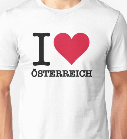 I love Austria Unisex T-Shirt