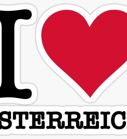 I love Austria Sticker