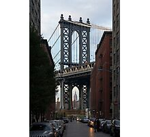 NYC // Brooklyn Heights // Empire State Building // Manhattan Bridge Photographic Print