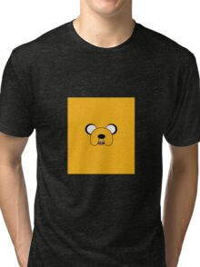 The Face of Jake Tri-blend T-Shirt
