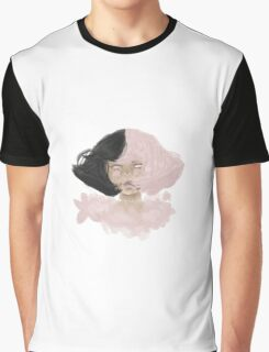 Cherry Blossom Girl Graphic T-Shirt