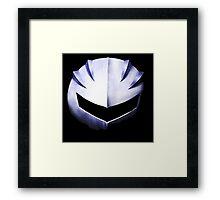 Kirby - Meta Knight Mask Framed Print