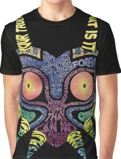 LoZ: Majora's Mask - Typography Graphic T-Shirt