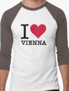 I Love Vienna Men's Baseball ¾ T-Shirt