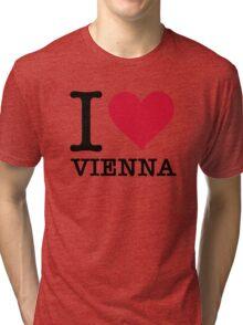I Love Vienna Tri-blend T-Shirt