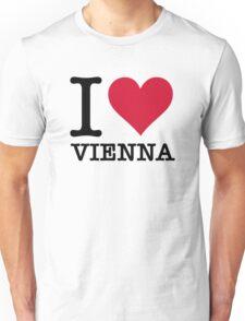 I Love Vienna Unisex T-Shirt
