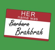 Her name was Brahbrah Kids Clothes