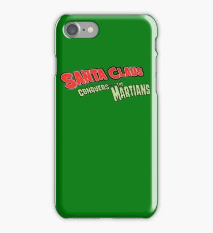 Santa Claus conquers the martians title iPhone Case/Skin