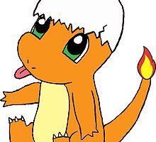 Baby Charmander by Kylie Remus