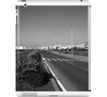 Ostia seafront: street and buildings iPad Case/Skin