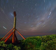 Apollo Bay Star Trails by Russell Wiltshire