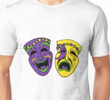 Mardi Gras Masks Unisex T-Shirt