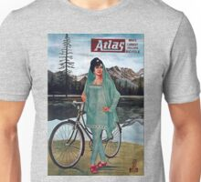 Vintage poster - Atlas Bicycle Unisex T-Shirt