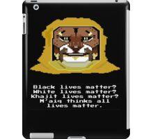 M'aiq on #BLM iPad Case/Skin