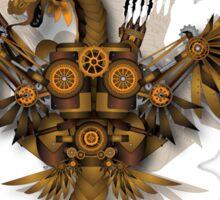 Steampunk Dragon Sticker