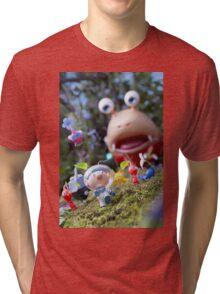 pikmin olamar and co Tri-blend T-Shirt
