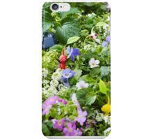 pikmin playing in the grass iPhone Case/Skin
