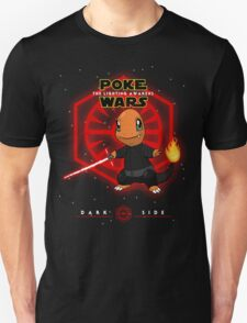 Poke Wars - The Lighting Awakens - Dark Version T-Shirt