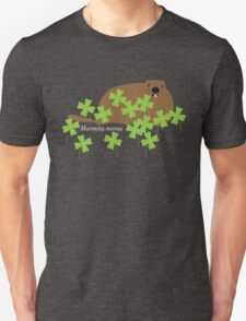 Groundhog in the Clover, Call him by his Latin name T-Shirt