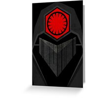 Star Wars - First Order Greeting Card