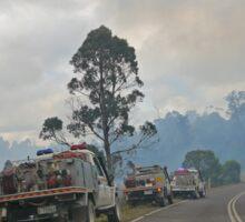 Bushfire, Boco Siding, Tasmania, Australia 4 Sticker