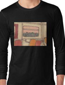 subway seats Long Sleeve T-Shirt